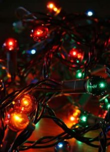 Christmas Lights - ya, we totally rocked some on our office doors.