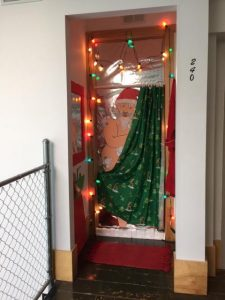 PPC Town Christmas Door Competition